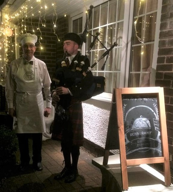 Burns Night Dinner at Twos and Threes Hideaway