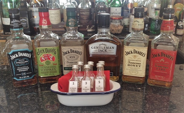 Jack Daniel's Tasting at Twos and Threes Hideaway