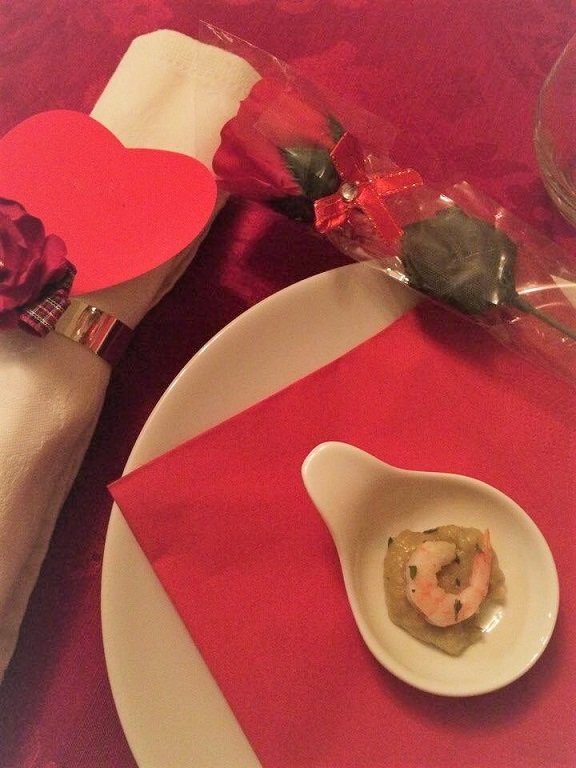 Valentines Dinner at Twos and Threes Hideaway